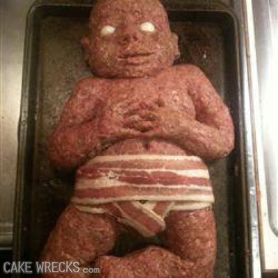 Horrifying Baby Shower Cakes
